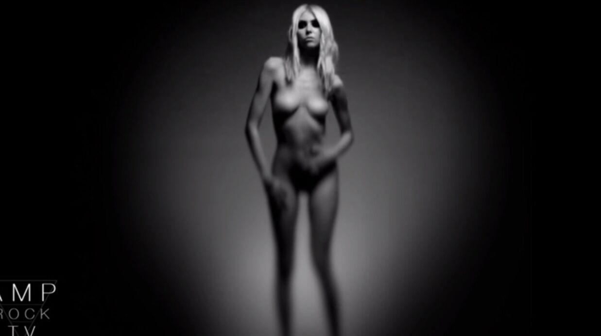 VIDEO Taylor Momsen entièrement nue pour The Pretty Reckless