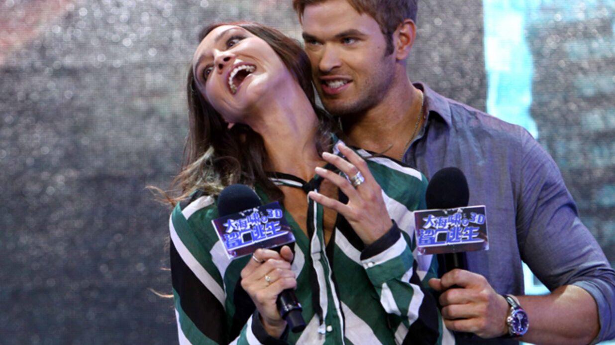 Kellan Lutz (Twilight) s'est remis avec son ex, Sharni Vinson