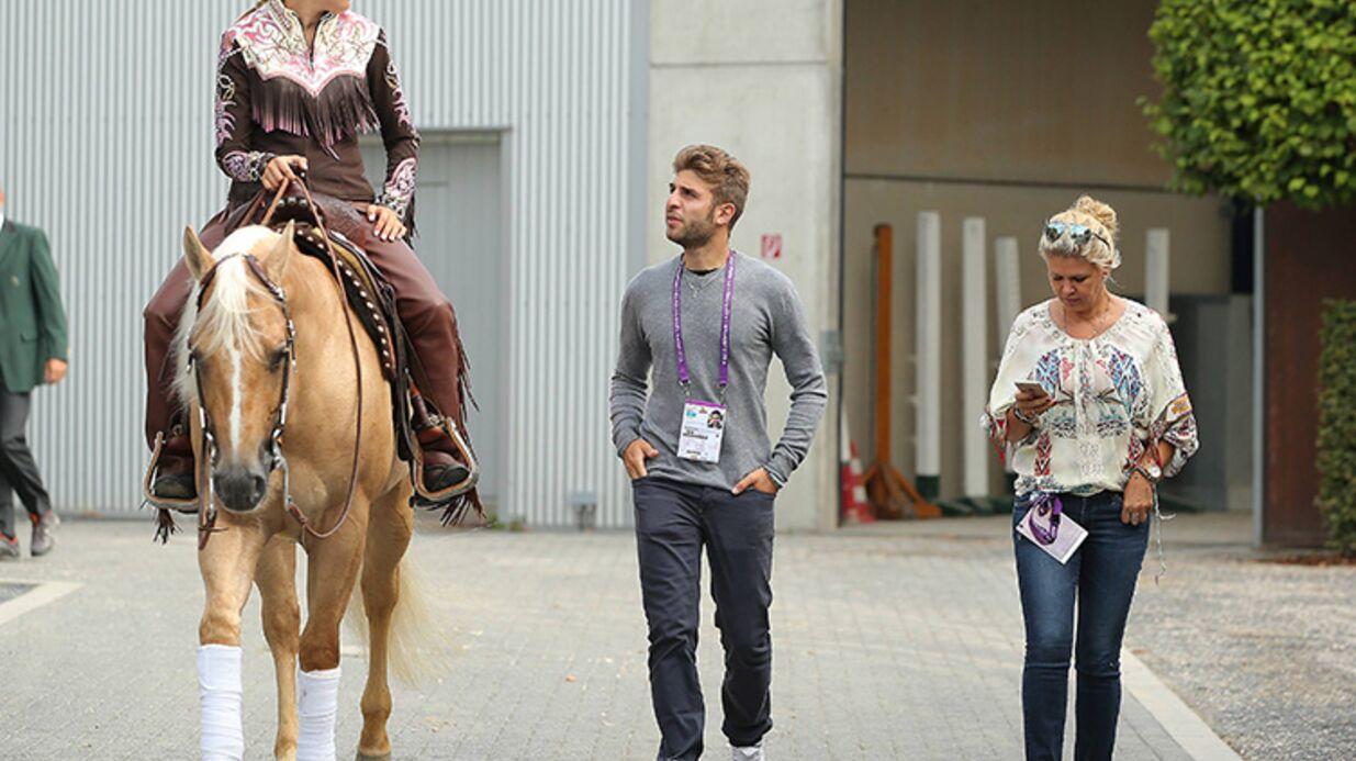 PHOTOS Schumacher: Mère et fille unies aux championnats d'équitation