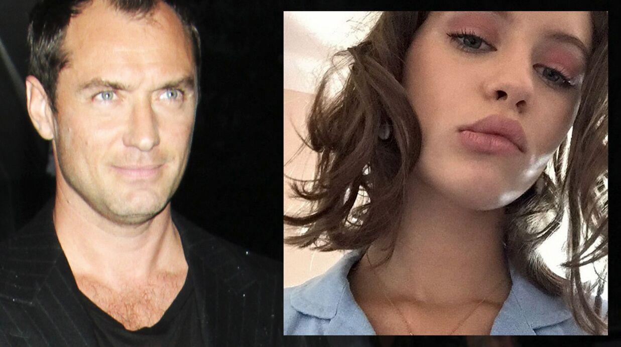PHOTOS Jude Law: le premier shooting de sa fille Iris, 15 ans