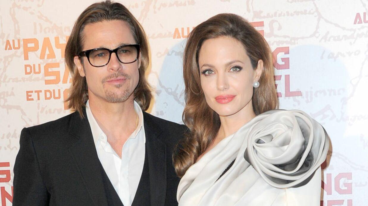 Brad Pitt et Angelina Jolie voudraient se marier en France