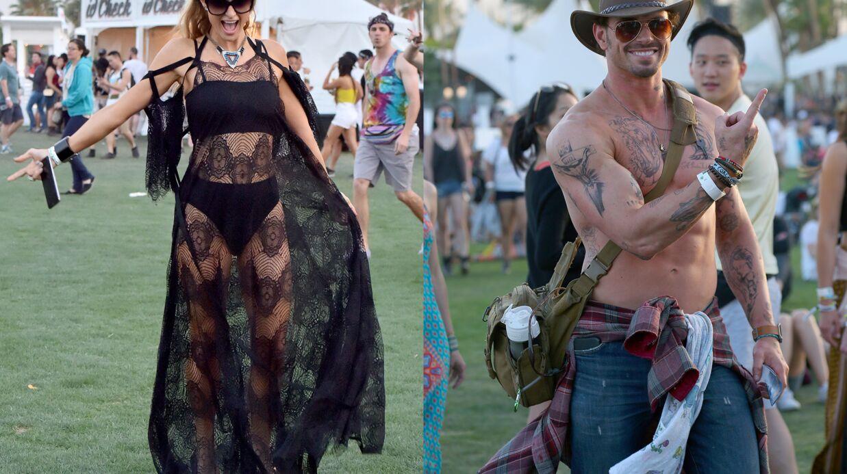 PHOTOS Coachella 2016: Paris Hilton s'éclate en robe transparente, Kellan Lutz enlève le haut
