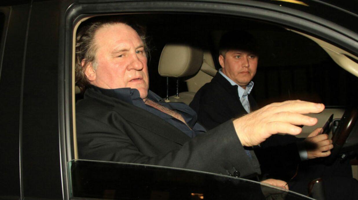 Gérard Depardieu rend son passeport au premier ministre