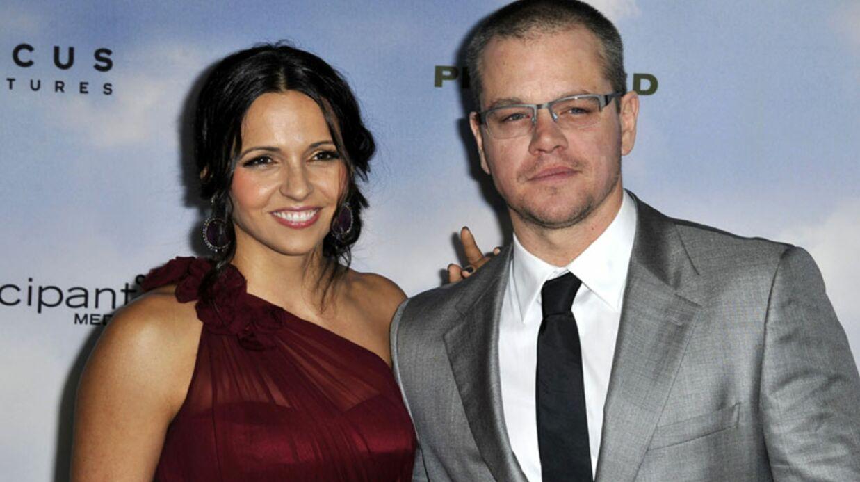 Matt Damon: le secret de longévité de son couple