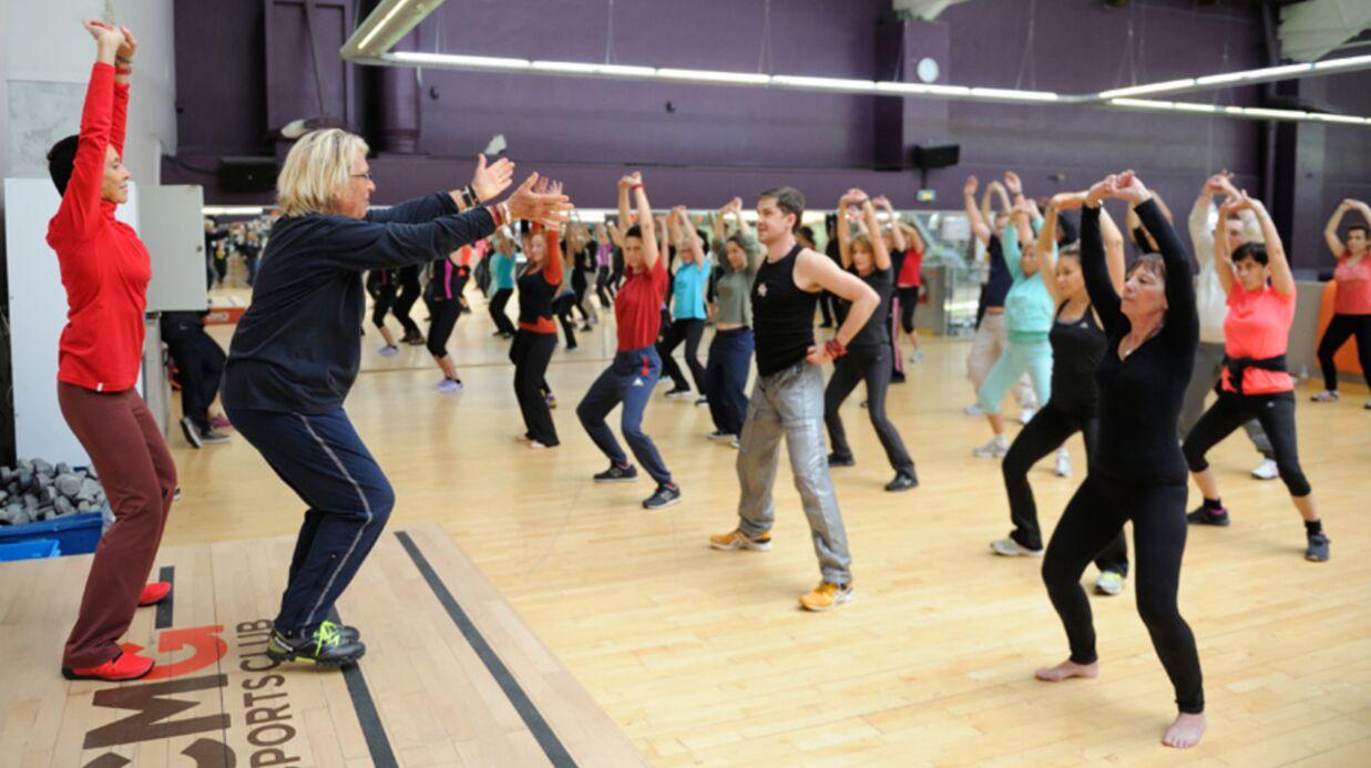 Photos v ro nique et davina gym tonic r unies nouveau pour donner un cours de fitness voici - Club med gym porte maillot ...