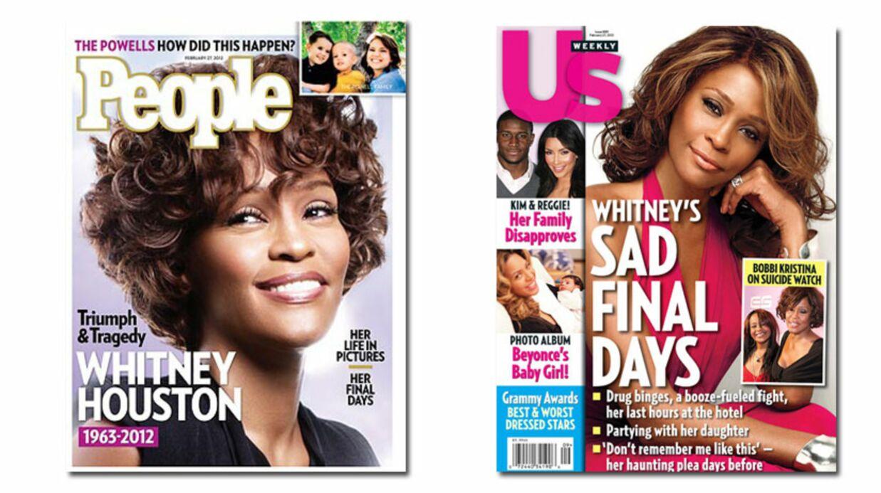 En direct des US: l'hommage des mags américains à Whitney Houston