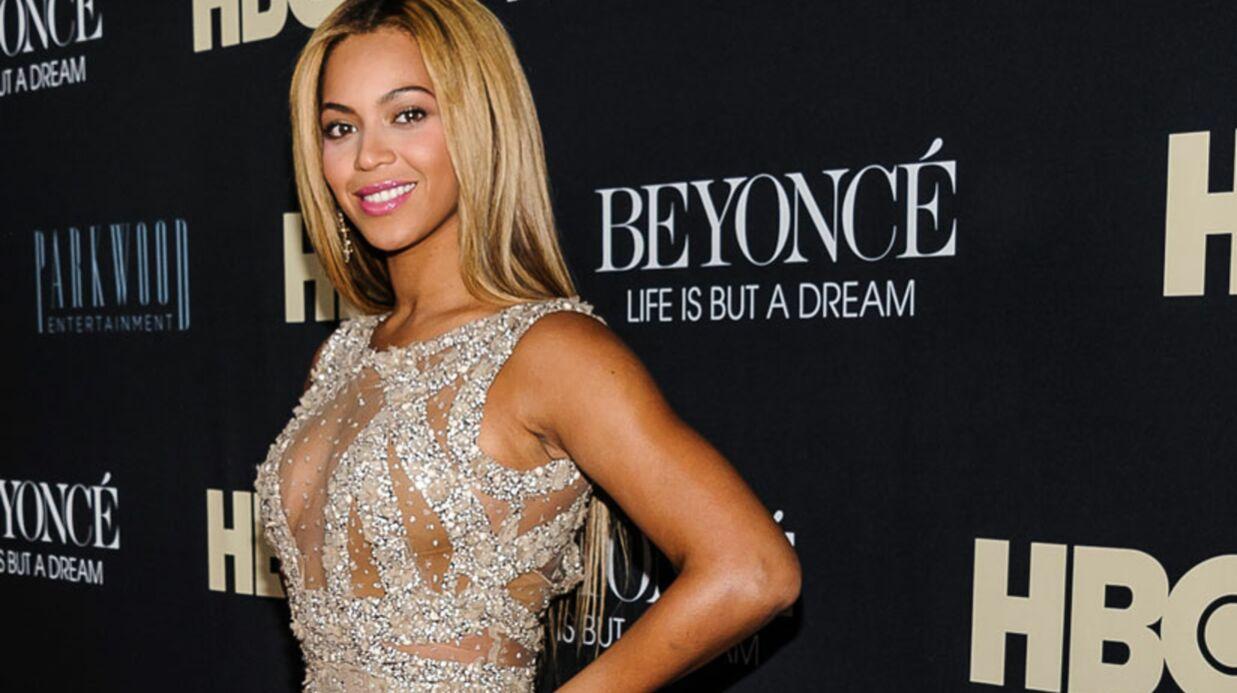 Beyoncé: le visage de sa petite Blue Ivy!