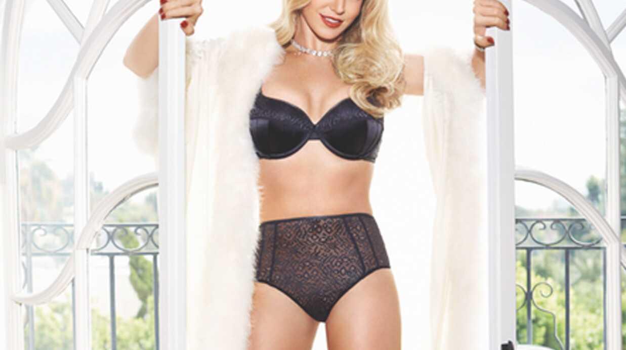 PHOTOS Britney Spears sexy et à moitié nue pour promouvoir sa ligne de lingerie