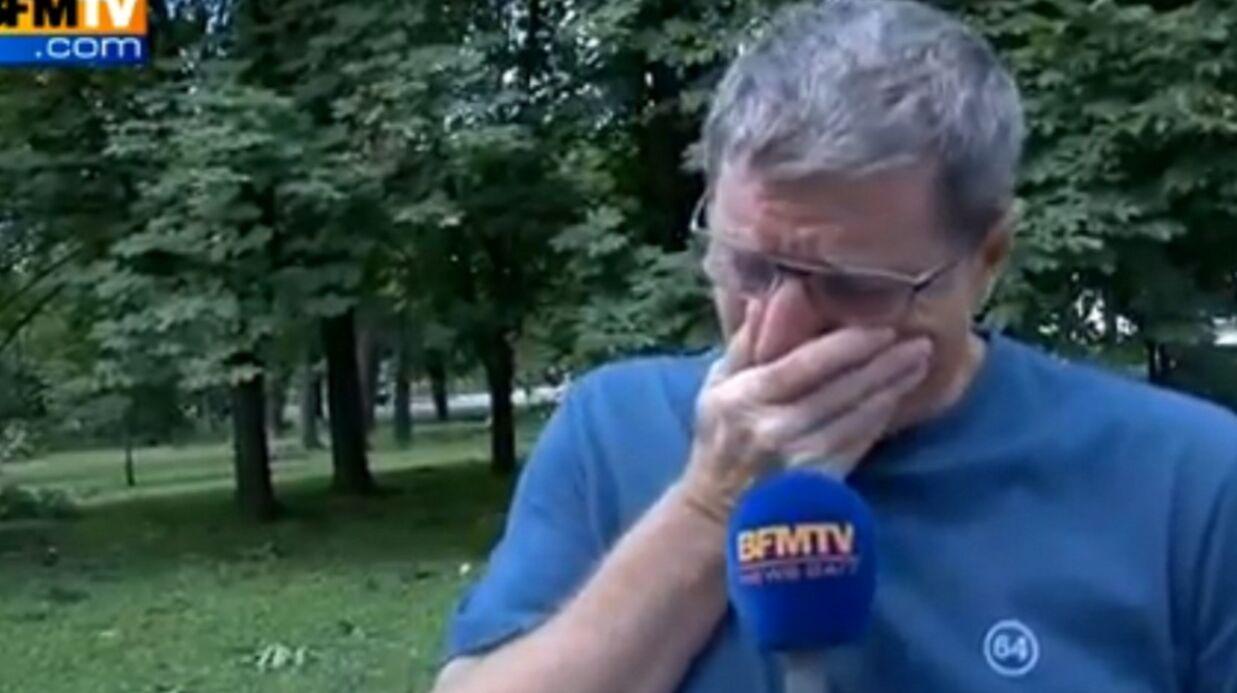 VIDEO Mort de Thierry Roland: les larmes de Jean-Michel Larqué