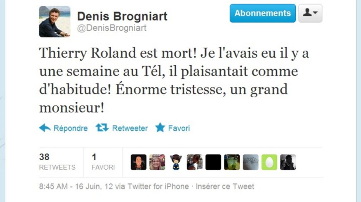 Mort de Thierry Roland à 74 ans