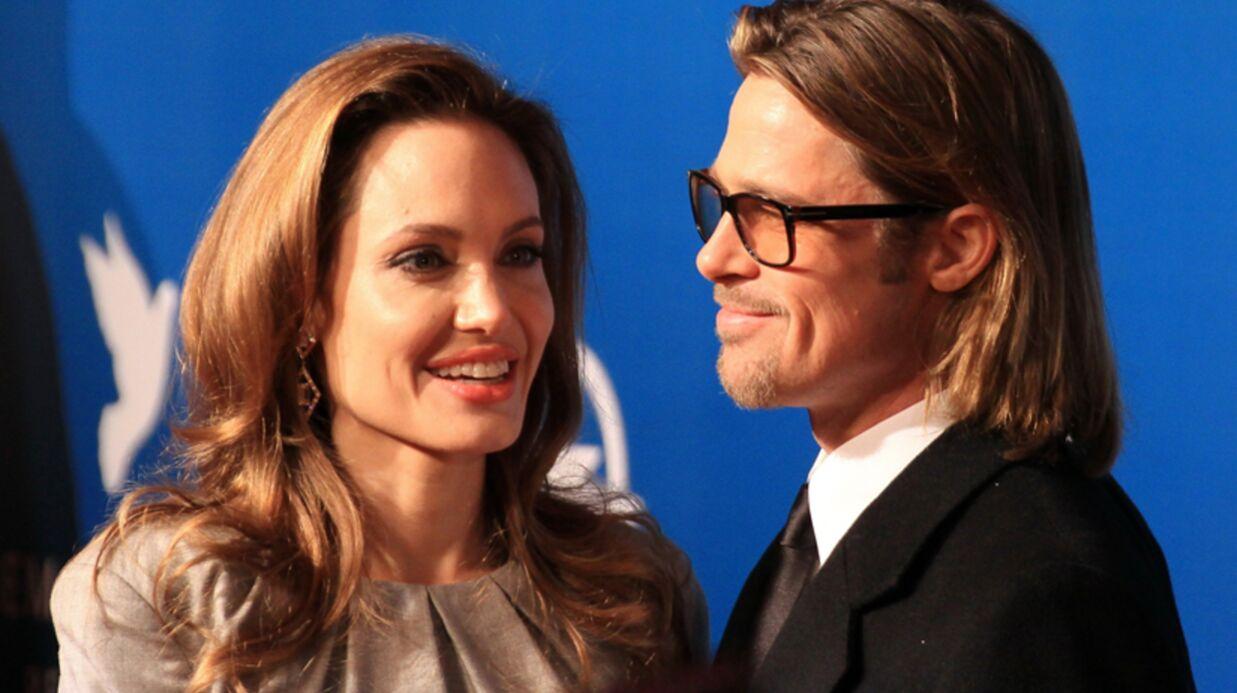 Angelina Jolie offre un hélicoptère à Brad Pitt