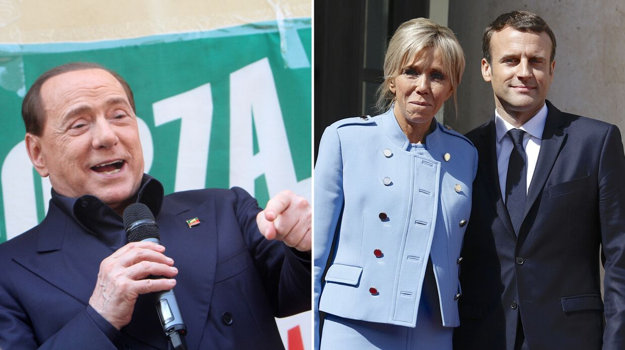 Silvio Berlusconi: ses propos déplacés sur Brigitte Macron