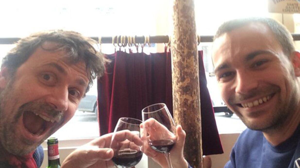 PHOTO Bertrand Chameroy: ses retrouvailles avec Christophe Carrière