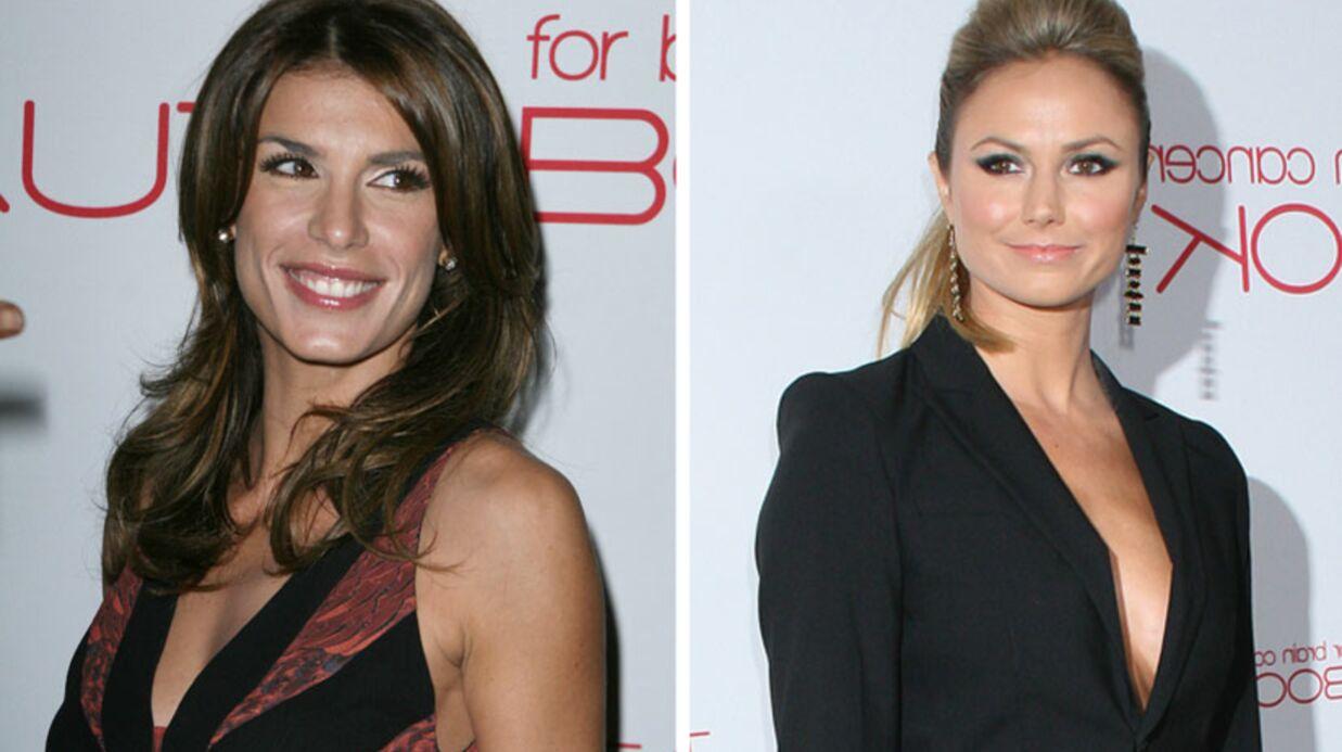 Stacy Keibler et Elisabetta Canalis: rencontre sous tension