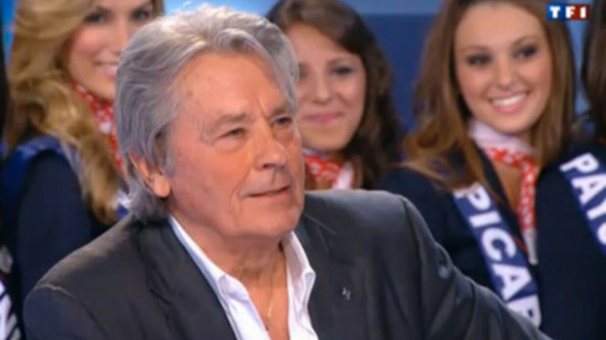 Miss France 2012 : clash entre Fran­cis Huster et Alain Delon