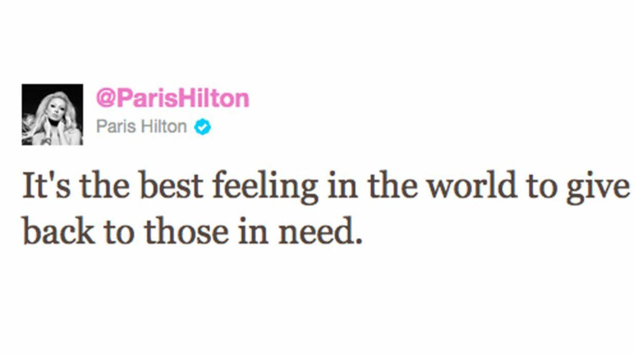 Paris Hilton heureuse de venir en aide à des orphelins de Bali