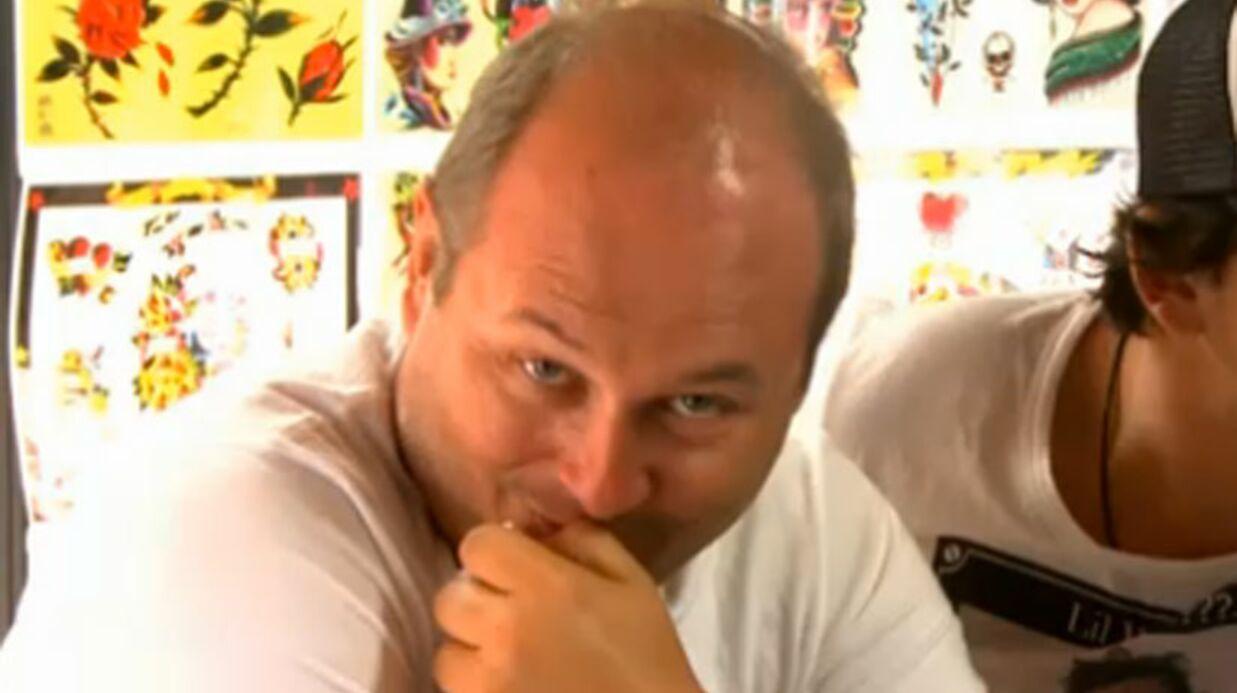 VIDEO Cauet saborde le tatouage d'un de ses animateurs