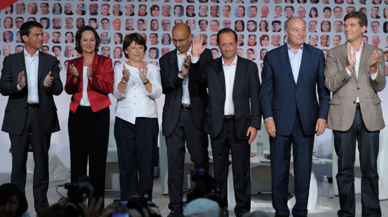 François Hollande et Ségolène Royal en guerre: la preuve par l'image