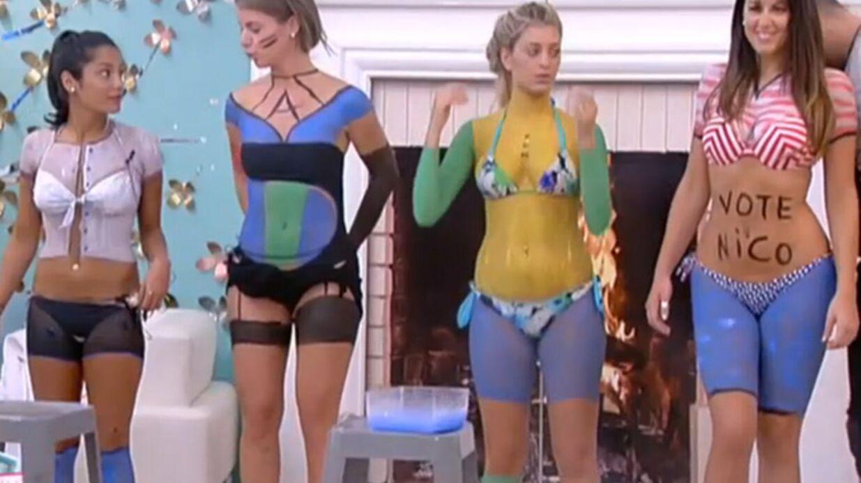 PHOTOS Secret Story 9: la séance du body painting très sexy des candidates