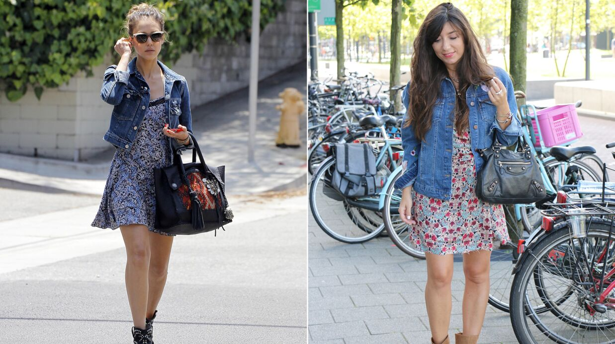 Shopping mode: Marieluvpink décontractée comme Jessica Alba