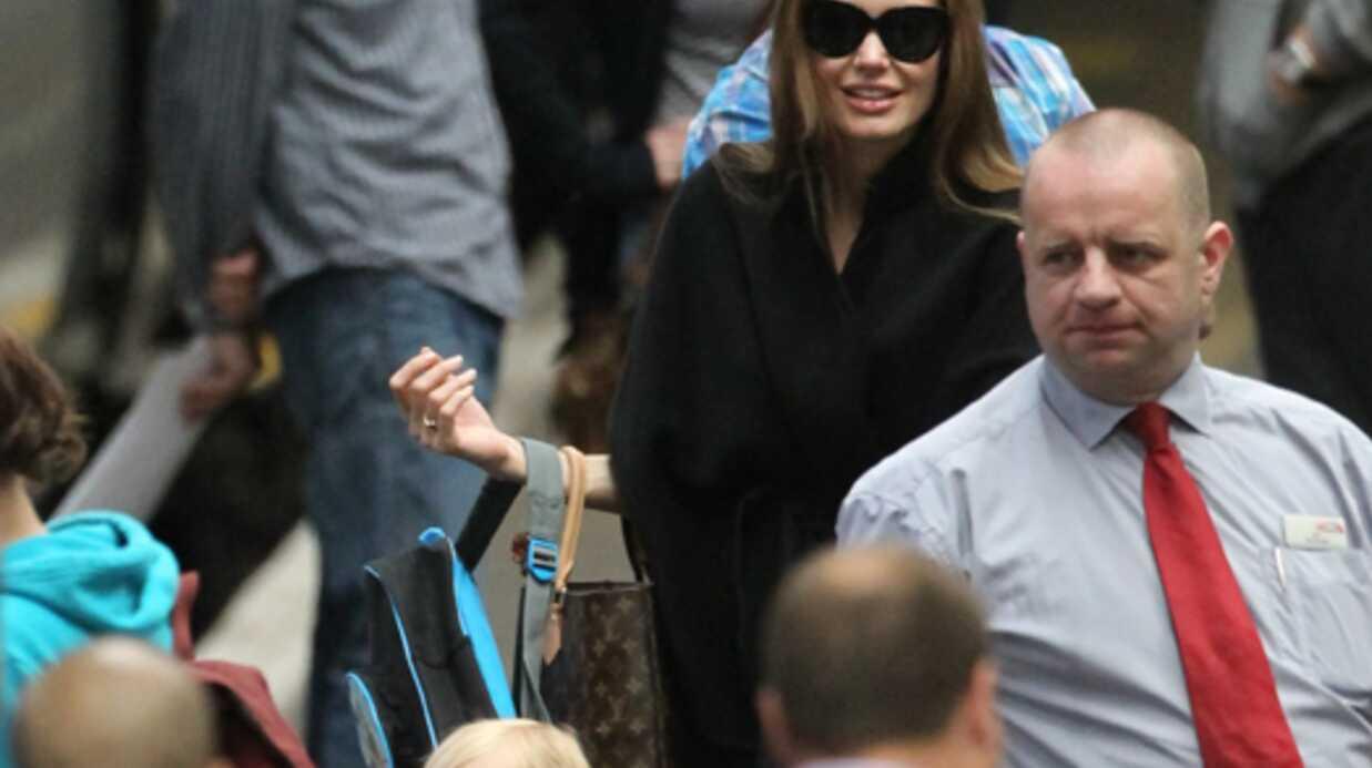 Brad Pitt et Angelina Jolie ont réservé un train entier