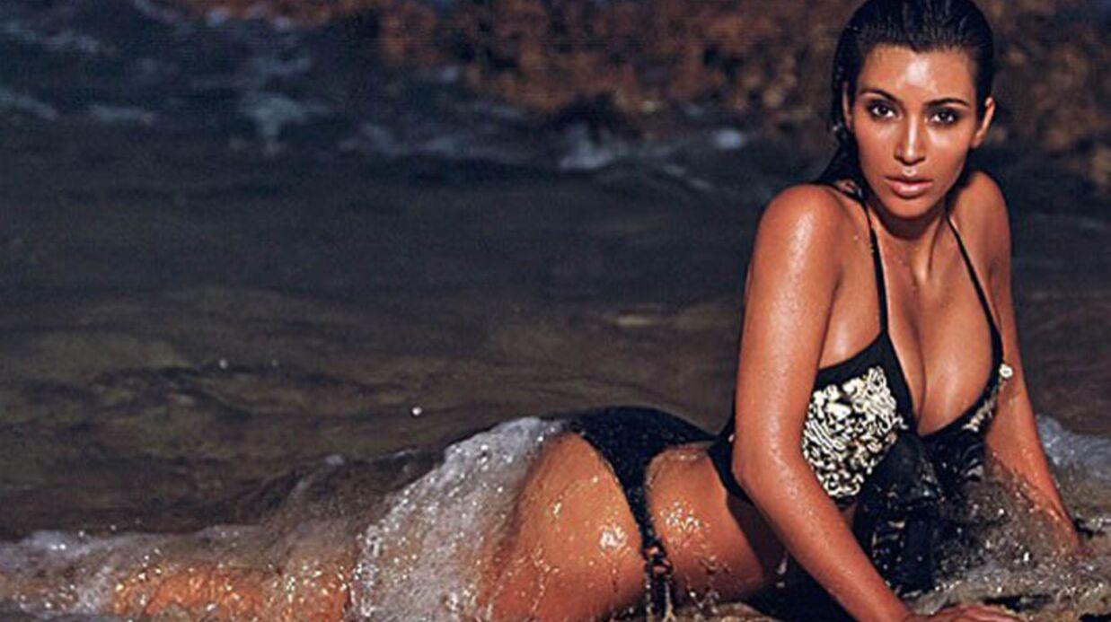 PHOTOS Kim Kardashian très distinguée dans les vagues à Hawaï