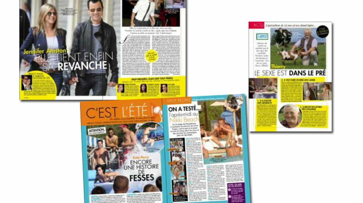 C'est dans Voici: la revanche de Jennifer Aniston et les images d'un nouveau couple