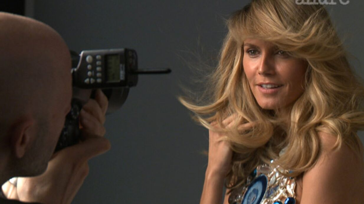 PHOTOS Heidi Klum nue pour un shooting