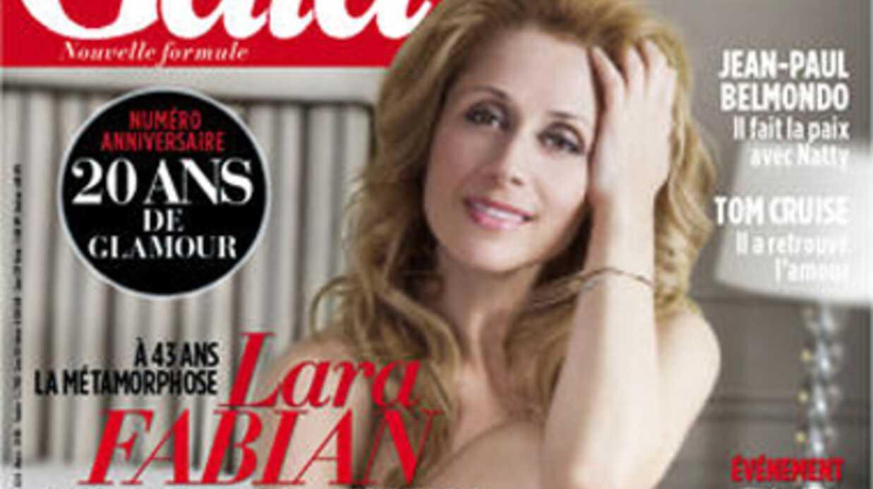 Lara Fabian pose nue pour Gala après avoir perdu dix kilos