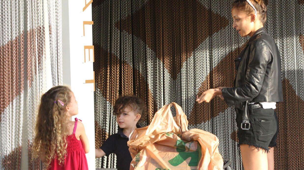 DIAPO Les enfants de Nicole Richie très (trop?) lookés