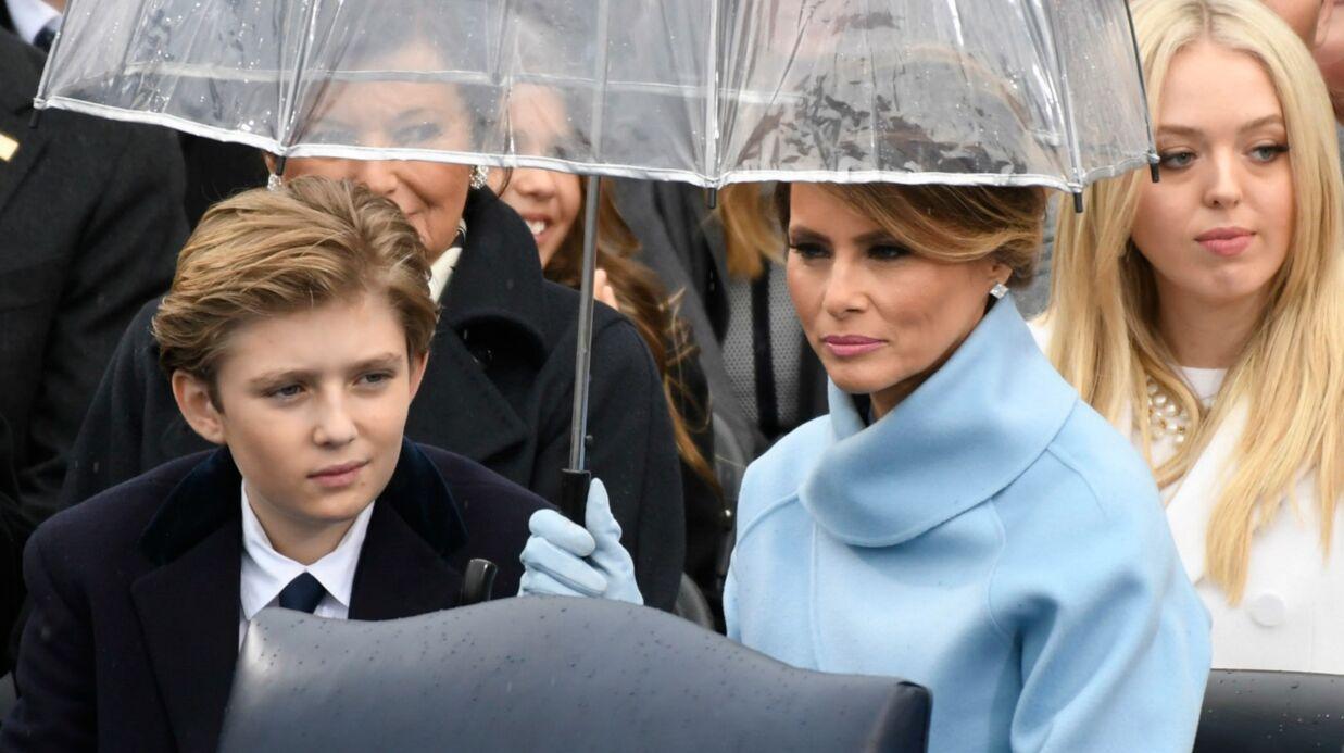 Melania Trump et son fils, Barron, vont (enfin) emménager à la Maison-Blanche
