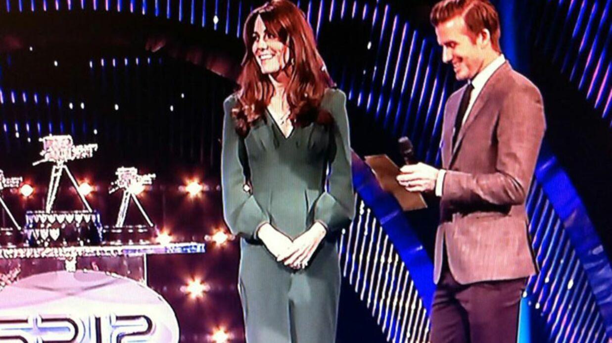 VIDEO Kate Middleton va mieux et le prouve lors d'une cérémonie