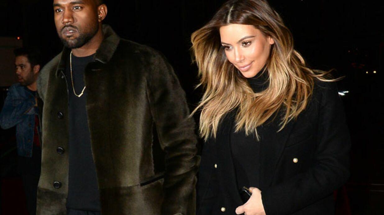 Kim Kardashian partage une photo craquante de sa fille
