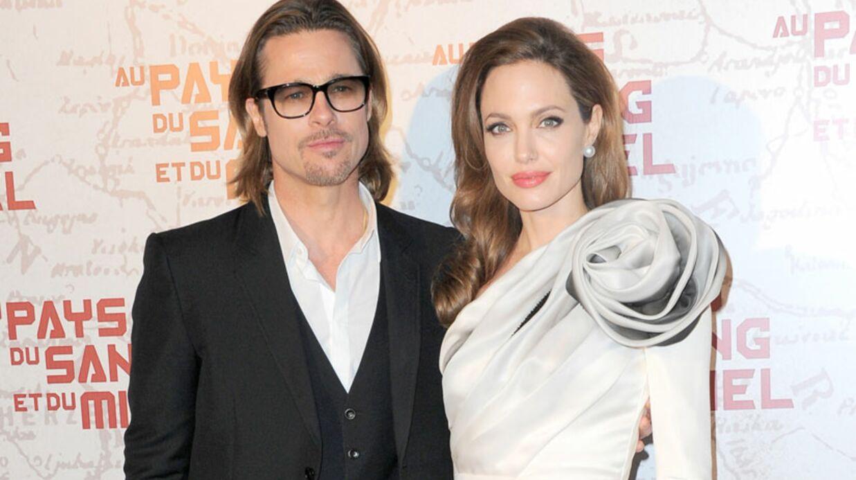 PHOTOS Angelina Jolie et Brad Pitt dînent en amoureux à Paris