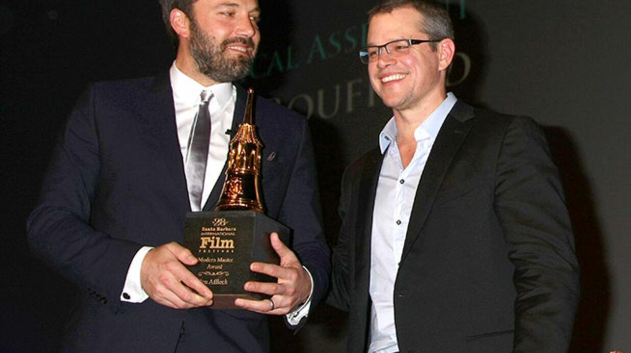 Matt Damon faxe une photo de ses fesses à Ben Affleck