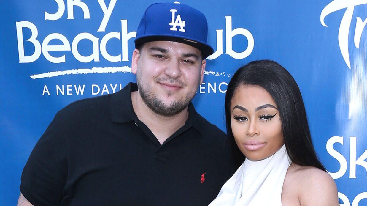 Blac Chyna et Rob Kardashian se séparent (encore) et rompent leurs fiançailles