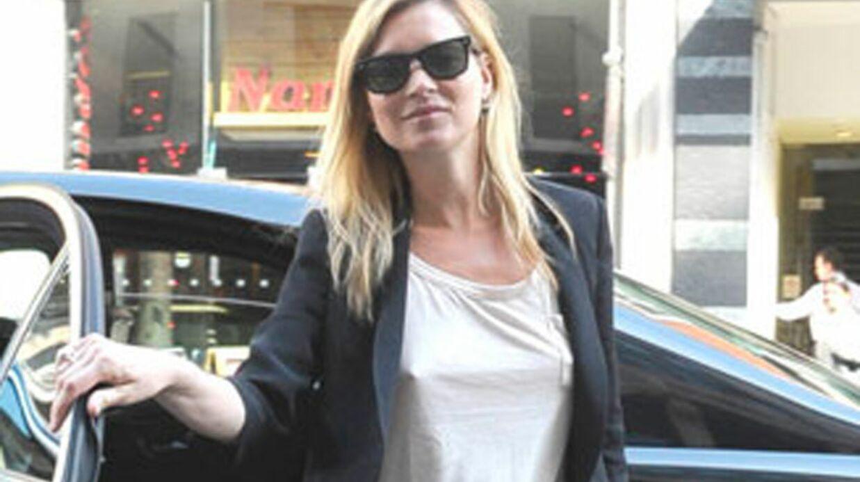 Kate Moss adore aller au pub et mater de la téléréalité