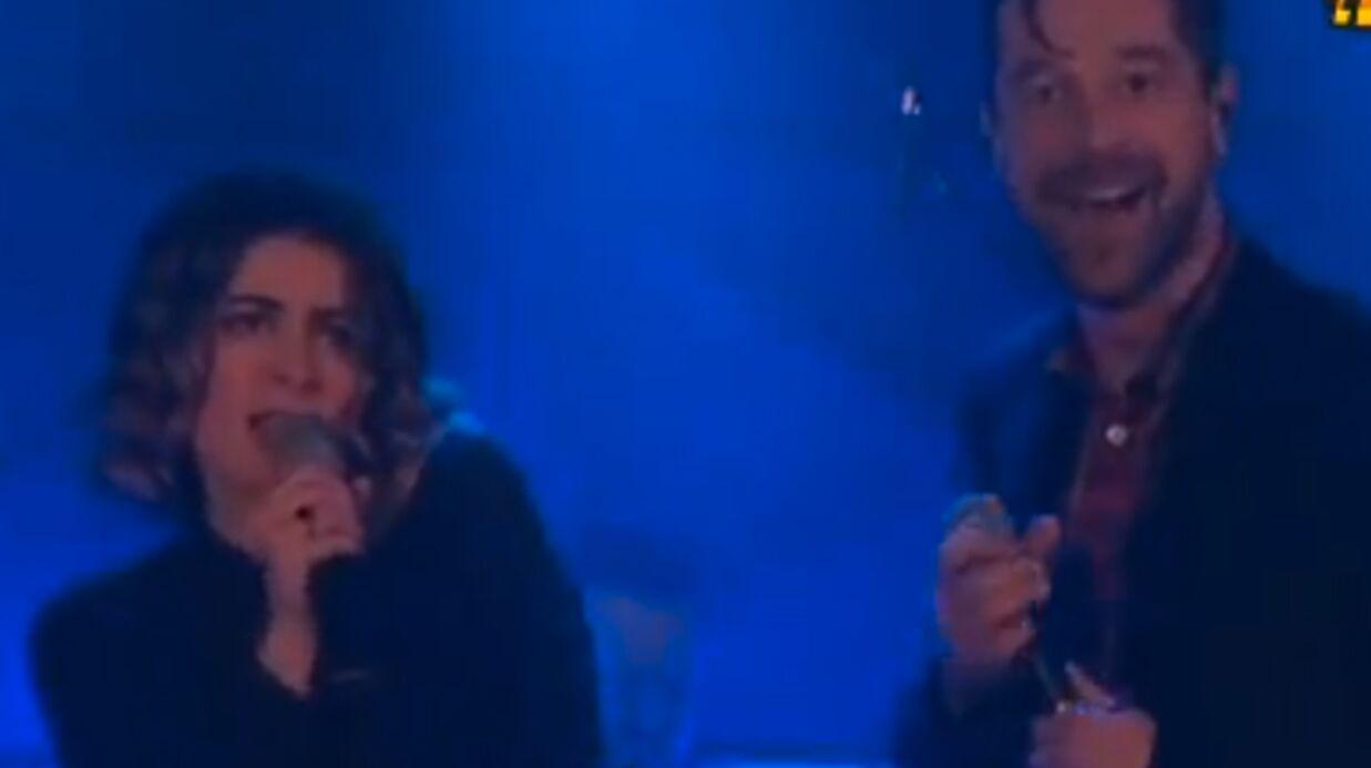 VIDEO Julie Zenatti se met au rock avec les Fatals Picards