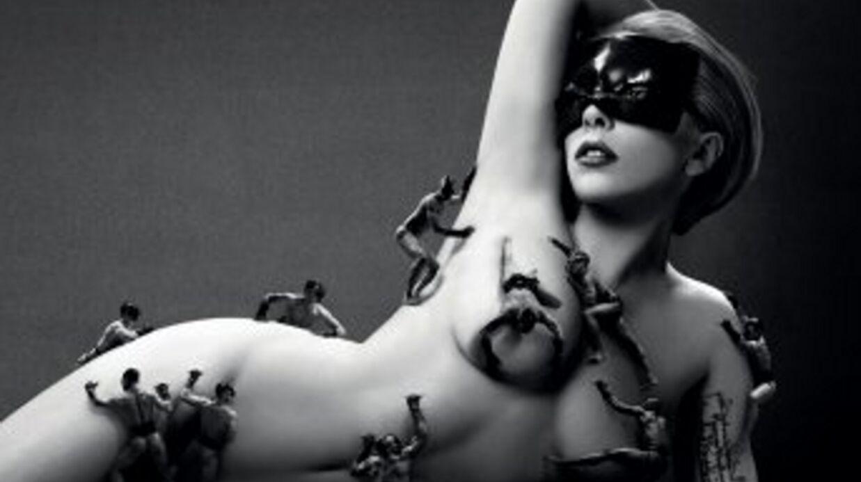 PHOTO Lady Gaga nue pour Fame, son nouveau parfum