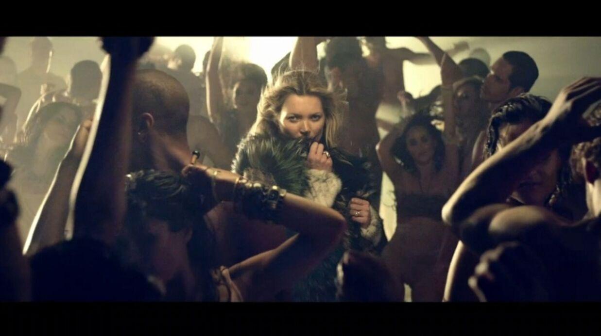 VIDEO Kate Moss dans le clip de George Michael, White Light