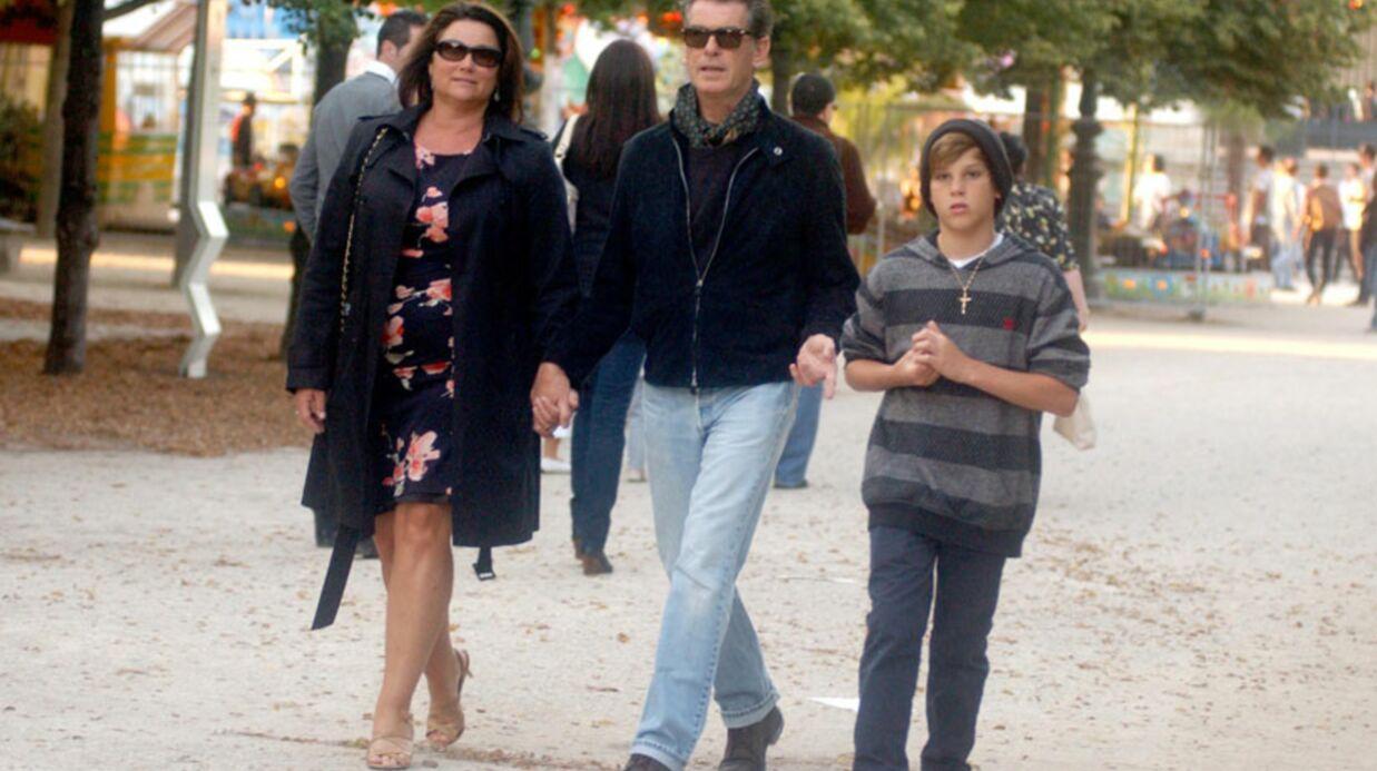PHOTOS Pierce Brosnan en touriste à Paris