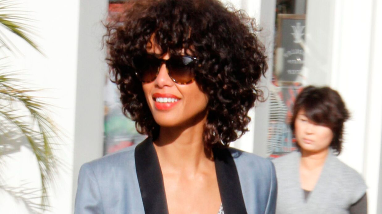 PHOTO Audrey Pulvar : une nouvelle coupe afro surpre­nante