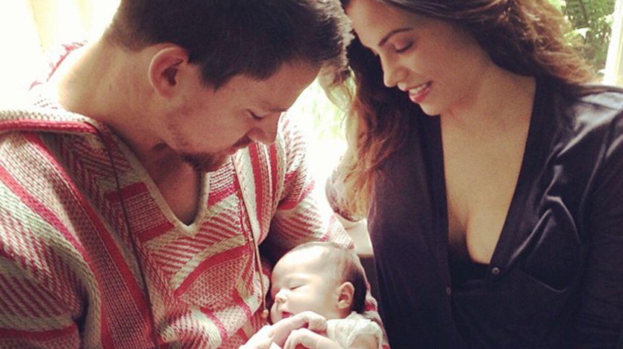 La première photo de la fille de Channing Tatum et Jenna Dewan