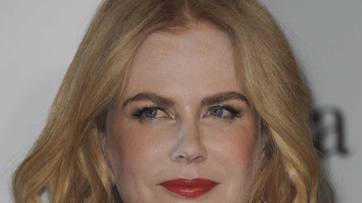 PHOTOS Gros raté maquillage pour Nicole Kidman qui est apparue toute enfarinée