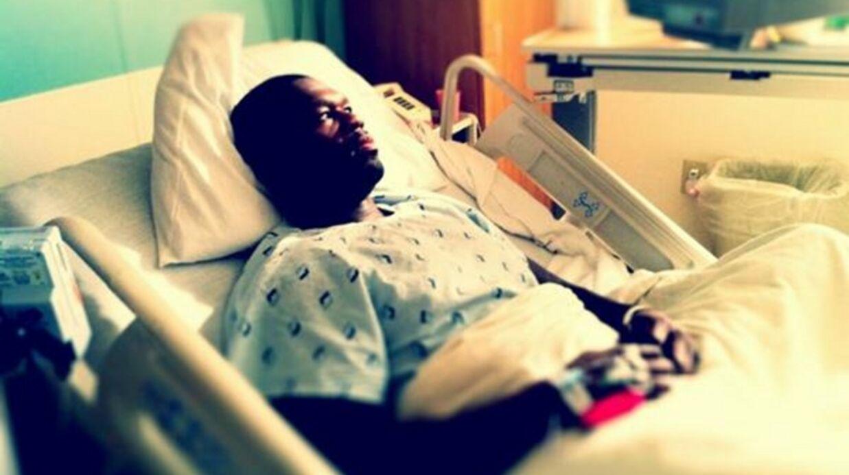 PHOTOS 50 Cent a emporté ses peluches à l'hôpital