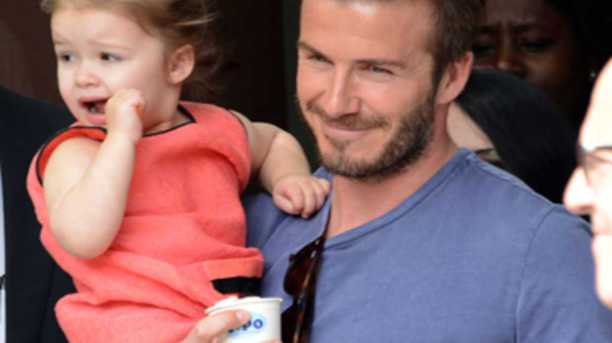 Victoria Beckham heureuse après la retraite sportive de David