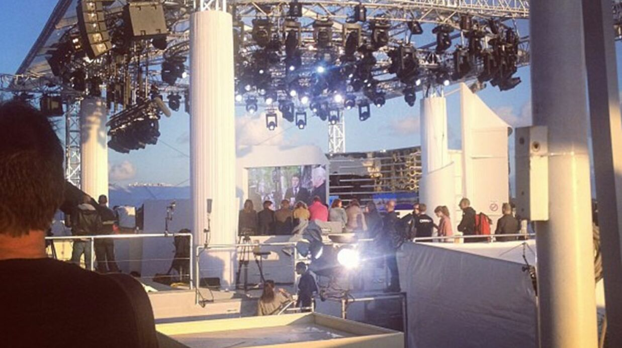 VIDEO Cannes: le plateau du Grand Journal évacué à cause de coups de feu