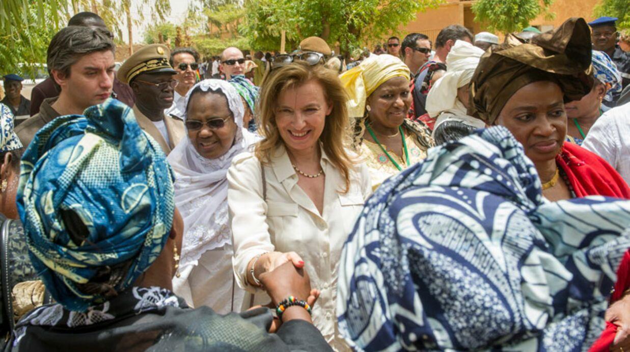 DIAPO Valérie Trierweiler: première dame en mode humanitaire au Mali