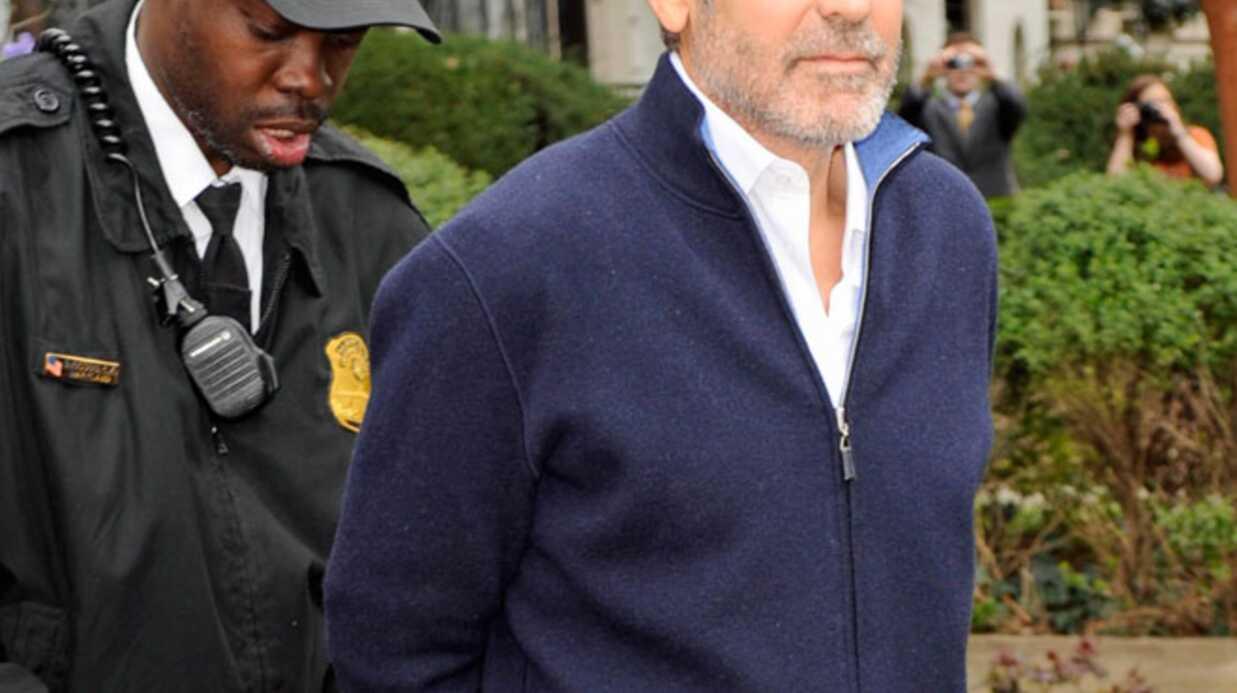 George Clooney a été libéré sous caution