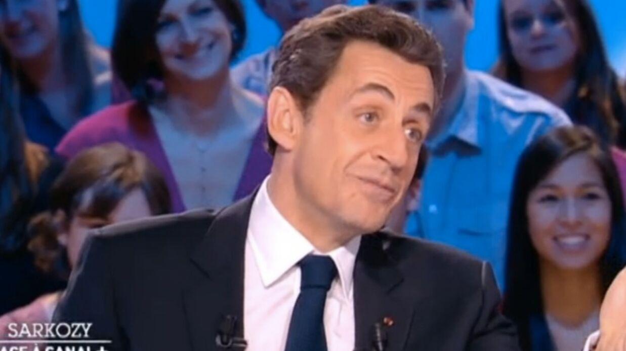 Sarkozy parle de son amour pour Carla Bruni au Grand Journal